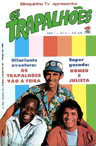 Download de Revista Os Trapalhões (Ed. Bloch) - 004