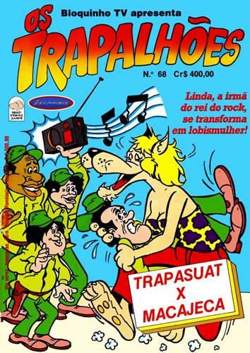 Download de Revista Os Trapalhões (Ed. Bloch) - 068
