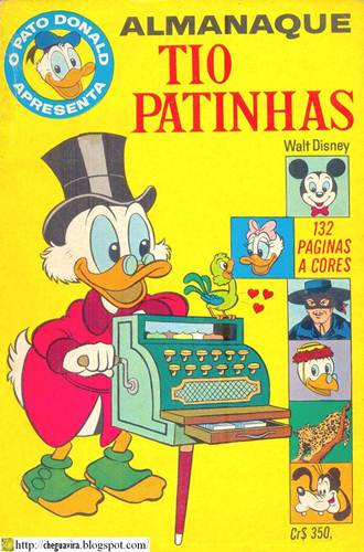 Download de Revista  Tio Patinhas - 003