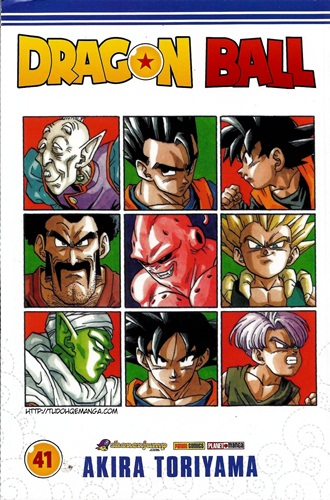 Download de Revista Dragon Ball - 41