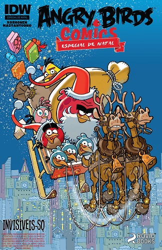 Download de Revista Angry Birds - Especial de Natal