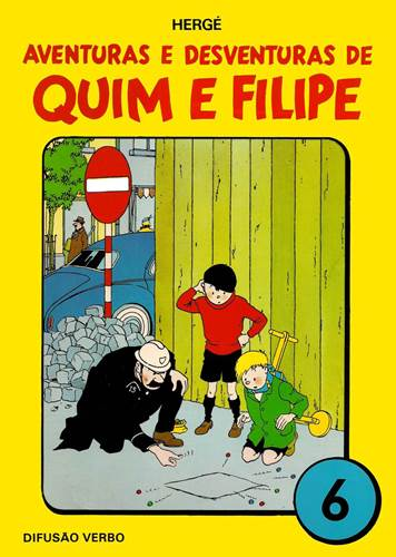 Download de Revista  Aventuras e Desventuras de Quim e Filipe - 06