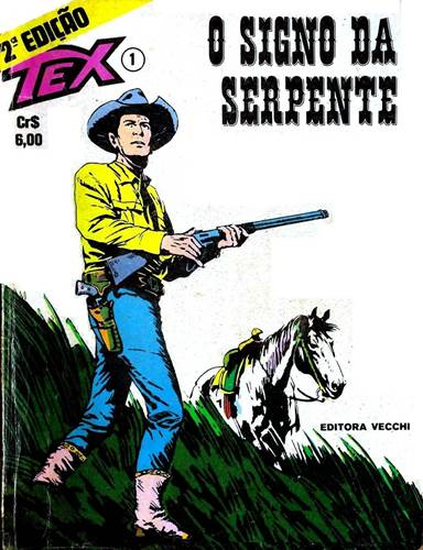 Download de Revista  Tex 001 - O Signo da Serpente