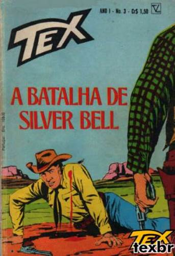 Download de Revista  Tex 003 - A Batalha de Silver Bell