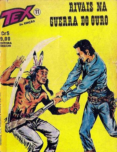 Download de Revista  Tex 011 - Rivais da Guerra do Ouro