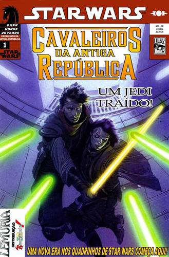 Download de Revista  Star Wars - Cavaleiros da Antiga República - 01 [Ano 3.964 ABY]