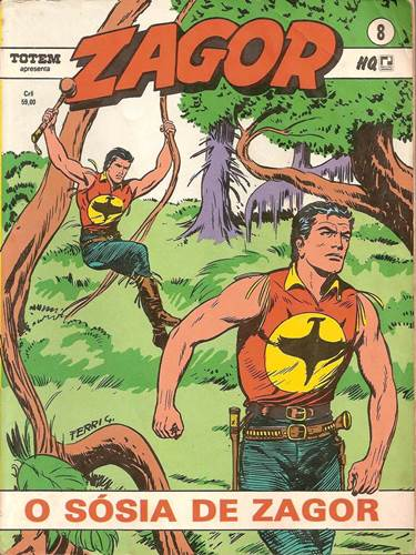 Download de Revista  Zagor (Ed. Record) - 008 : O Sósia de Zagor