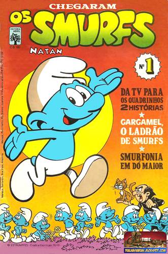 Download de Revista  Os Smurfs (Ed. Abril) - 01