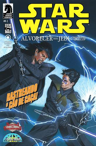 Download de Revista  Star Wars - Alvorecer dos Jedi : Prisioneiro de Bogan - 05 [Ano 26.453 ABY]