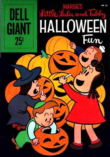 Download de Revista  Little Lulu And Tubby Halloween Fun [Dell Giant 023]