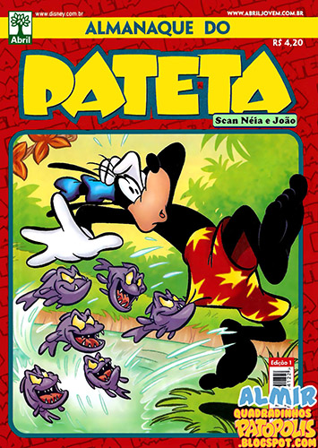 Download de Revista Almanaque do Pateta - 01