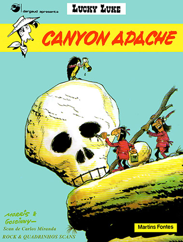 Download de Revista Lucky Luke - Canyon Apache