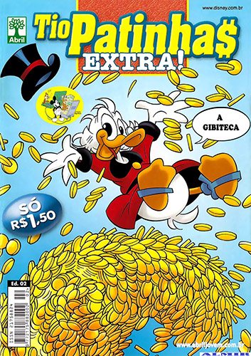 Download de Revista Tio Patinhas Extra! - 02