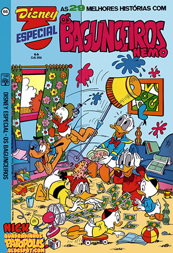 Download de Revista Disney Especial - 066 : Os Bagunceiros