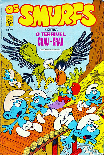 Download de Revista Os Smurfs (Ed. Abril) - 04