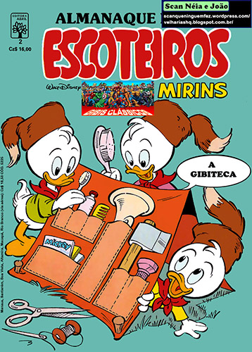 Download de Revista Almanaque dos Escoteiros Mirins - 02