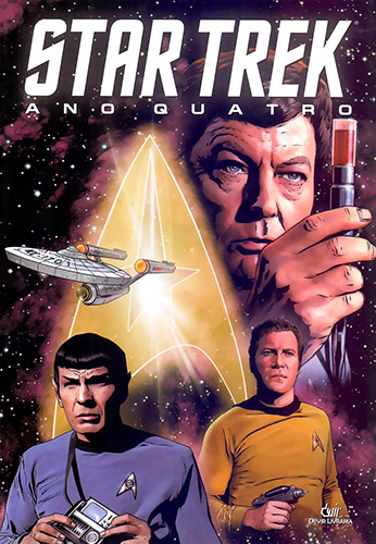 Download de Revista Star Trek (Ed. Devir) - Ano Quatro