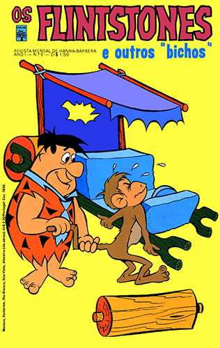 Download de Revista Os Flintstones (Ed. Abril, série 1) - 06