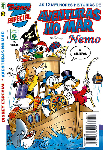 Download de Revista Disney Especial - 152 : Aventuras no Mar
