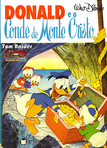Download de Revista Donald Através dos Séculos (Edinter) - 02 : O Conde De Monte Cristo