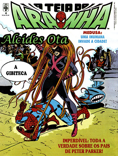Download de Revista A Teia do Aranha (Abril) - 004