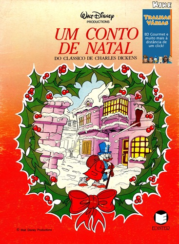 Download de Revista Um Conto de Natal do Clássico de Charles Dickens (Ed. Edinter)