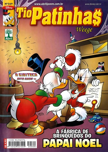 Download de Revista Tio Patinhas - 569