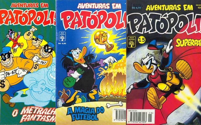 Download Aventuras em Patópolis