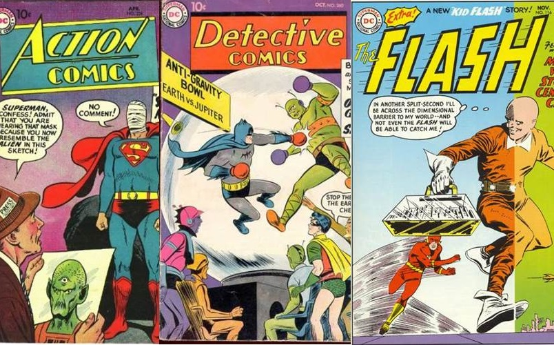 Download de Revista DC Comics : 1956 - 1960 [Inglês]