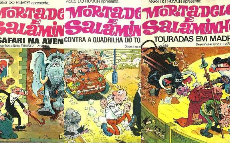 Download de Revistas  Mortadelo e Salaminho