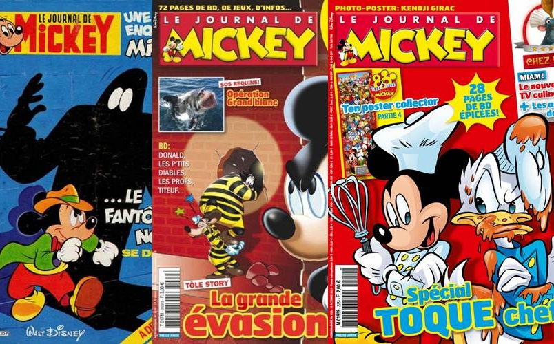 Download de Revista Le Journal de Mickey [Francês]