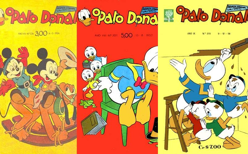 Download de Revistas  Pato Donald 1955-1959 [Scans sem Tratamento]