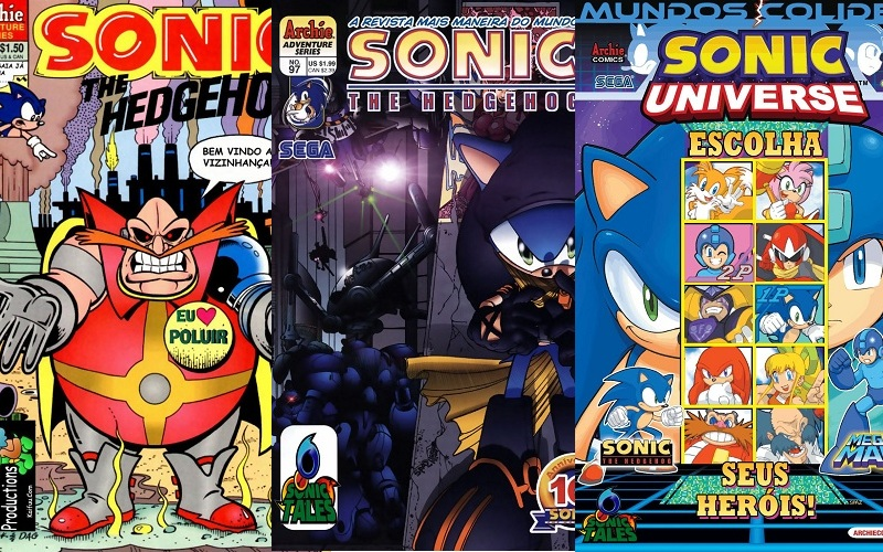 Download de Revista Sonic the Hedgehog